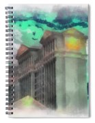 Las Vegas Caesars Photo Art Spiral Notebook