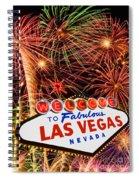 Las Vegas Spiral Notebook
