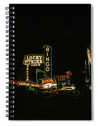 Las Vegas Lights2 Spiral Notebook