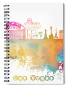 Las Vegas Nevada Skyline  Spiral Notebook