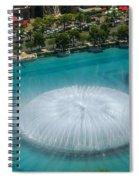 Las Vegas Orb Spiral Notebook