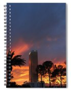 Las Vegas Sunset And Trump Tower Spiral Notebook
