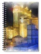 Las Vegas The Palace Photo Art Spiral Notebook