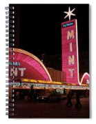 Las Vegas With Watercolor Effect Spiral Notebook