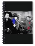 Lash Larue And Charles King Law Of The Lash Publicity Photo 1947 Spiral Notebook
