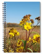 Last Blooms Before Fall Spiral Notebook