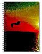 Last Breath Spiral Notebook