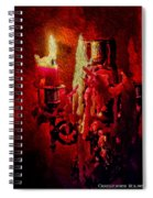 Last Candle Spiral Notebook