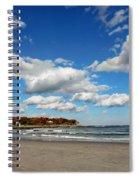 Last Days Of Warmth Spiral Notebook