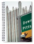 Last Exit Pittsburgh Spiral Notebook