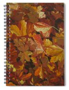 Last Fall In Monroe Spiral Notebook