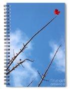 Last Leaf Standing Spiral Notebook