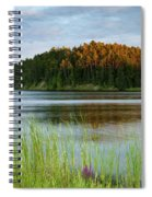 Last Light On The Lake Spiral Notebook