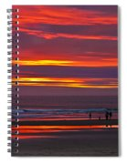 Last Of The Light Spiral Notebook