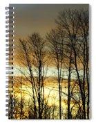 Last Rays Of Light Spiral Notebook