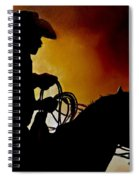 Last Roping Spiral Notebook