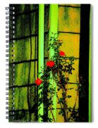 Last Roses Of The Season Spiral Notebook