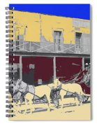 Last Stage To Tombstone Arizona Old Modoc 1903-2013 Spiral Notebook