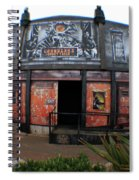 Night Gallery - Ghost Train Spiral Notebook