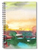 Late Afternoon 59 Spiral Notebook