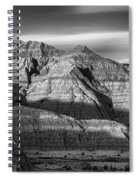 Late Afternoon In The Badlands Spiral Notebook