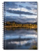 Late Afternoon On The Tuolumne River Spiral Notebook