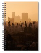Late Afternoon Over Hollywood Spiral Notebook