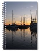 Late Afternoon St. Marys Ga Spiral Notebook