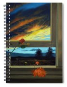 Late Autumn Breeze By Christopher Shellhammer Spiral Notebook