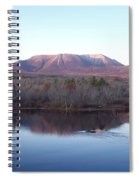 Late Fall At Abol Bridge Spiral Notebook