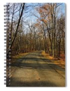 Late Fall At Cheesequake State Park Spiral Notebook
