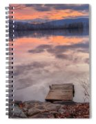 Late Fall Early Winter Spiral Notebook