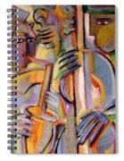 Late Night Jam Spiral Notebook