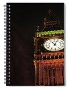 Late Night London  Spiral Notebook