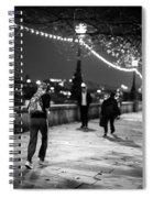 Late Night Run Spiral Notebook