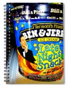 Late Night Snack Spiral Notebook