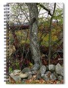 Late October Spiral Notebook