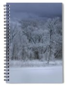 Late Snow At The Rio Grande Spiral Notebook
