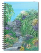 Late Summer On The White River Spiral Notebook