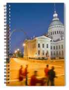 Late To The Game Spiral Notebook
