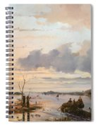 Late Winter In Holland Spiral Notebook