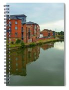 Latimer And Crick Building In Northampton Spiral Notebook