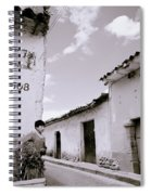 The Alleys Of Cuzco Spiral Notebook