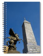Latin American Tower And Statue Spiral Notebook