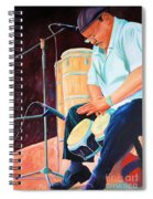 Latin Jazz Musician Spiral Notebook