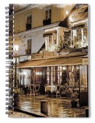 Latin Quarter In Copper Spiral Notebook