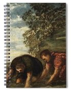 Latona Changing The Lycian Peasants Into Frogs Spiral Notebook