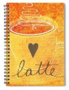 Latte Spiral Notebook