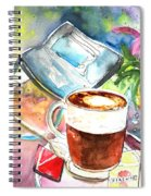 Latte Macchiato In Italy 01 Spiral Notebook