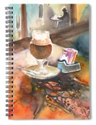 Latte Macchiato In Italy 02 Spiral Notebook